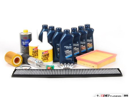 ES#10358 - E46IN2ENlV - Inspection II Service Kit - Includes all parts required to perform your Inspection II service. - Assembled By ECS - BMW