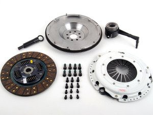 ES#2575881 - 17375HD00SPKIT - Stage 1 Clutch Kit - Steel Flywheel (20lbs) - Great upgrade for daily driving tuned cars - Clutch Masters - Audi Volkswagen