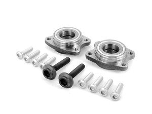 ES#2718909 - 8E0498625BKT4 - Front Wheel Bearing Kit - Includes both front wheel bearings and installation hardware - Vaico - Audi Volkswagen