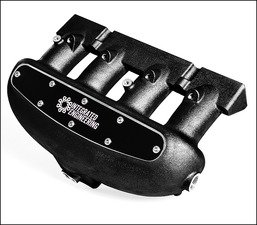 ES#2834698 - IEIMVC1-bk - Intake Manifold - Black Velocity Stack Cover - Does not include installation hardware - Integrated Engineering - Audi Volkswagen