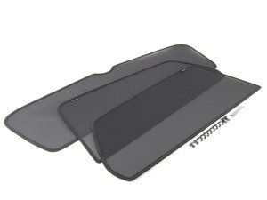 ES#2727119 - 5G0064365 - Rear Window Sun Shade Kit - Keep it cool in the back with these rear side mounted sunshades - Genuine Volkswagen Audi - Volkswagen