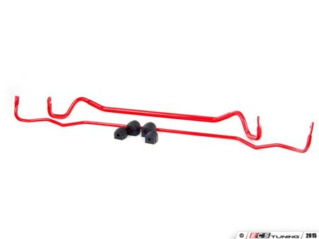 ES#2828690 - 007278ecsKT1 -  ECS Tuning Front & Rear Sway Bar Kit - Eliminate excessive body roll, improve handling, and gain a more engaging driving experience. Includes matched front (28mm) and rear (15mm) sway bars with polyurethane bushings. - ECS - BMW