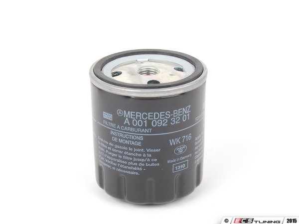Genuine mercedes benz 0010923201 fuel filter priced each for Mercedes benz fuel filter