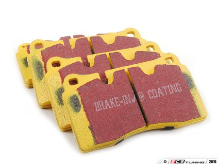 ES#2622045 - DP42070R - Front Yellowstuff Performance Brake Pad Set - A race quailty pad that can be used at the track, and then get you back home again. - EBC - Audi