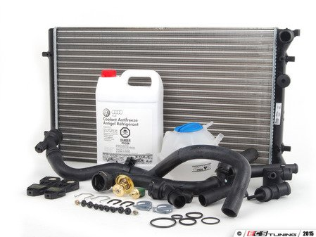 ES#2765677 - 1J0121253ADKT7 - Cooling System Refresh Kit - The most common failure points in your cars cooling system - Assembled By ECS - Volkswagen