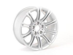 "ES#65138 - 36118036947 - 18"" M Double Spoke Style 135 Wheel - Priced Each - 18x8 ET20 72.6mm CB - Genuine BMW - BMW"