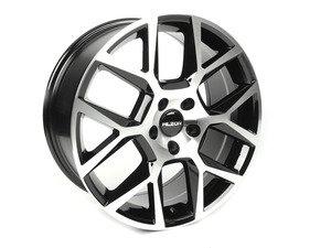 "ES#2722959 - 640-3kt - 18"" Style 640 Wheels - Set Of Four - 18""x8"" ET35 5x112 - Black/Machined Face - Alzor - Audi Volkswagen"