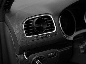 """ES#2834867 - 004608ECS01 - Angled Gauge Vent Pod - Gauge mounting pod to mount any 52mm (2 1/16"""") gauge into your left side air vent - ECS - Volkswagen"""