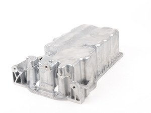 ES#2836875 - 06F103601L - Oil Pan - With Oil Level Sensor Hole - Perfect replacement for those with cracked oil pans, or stripped out drain plugs - URO - Audi Volkswagen