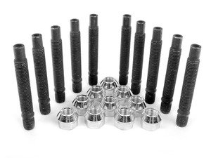 ES#2960631 - 001467ecsbKT - Wheel Stud Conversion Kit - Half Set - Make wheel changes faster and easier, enough to convert one axle - ECS - BMW