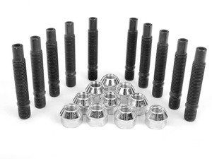 ES#2960632 - 001467ecsbKT1 - Wheel Stud Conversion Kit - Half Set - Make wheel changes faster and easier, enough to convert one axle - ECS - BMW