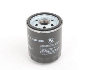 ES#2698776 - 11421258038 - Oil Filter - Priced Each - Keep your engine oil free of dirt and debris - Genuine BMW - BMW