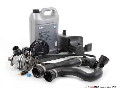 ES#2836845 - ECSE461711-2KT - ECS Cooling System Refresh Kit - Level 2 - A more advanced refresh kit - with aftermarket components, featuring an ECS Aluminum Pulley and GEBA Water Pump - Assembled By ECS - BMW