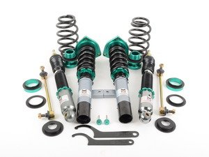 ES#2836921 - MR-CDK-GOLF5 - Euro II Series Coilover Kit - Adjustable Dampening - Featuring 32 level easy-access adjustable dampening and fully adjustable pillow-ball upper mount camber plates - Megan Racing - Audi Volkswagen