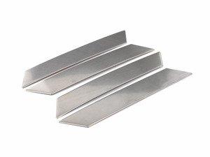 ES#2792865 - 3592CHRL13626 - Brushed Aluminum Grab Handle Trim - Set - Set your interior apart with brushed aluminum grab handle plates - Bremmen Parts - Volkswagen