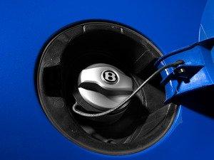 ES#2833330 - 3W0201550L - Bentley Gas Cap - Matte aluminum fuel cap straight from the Bentley parts bin - Genuine Bentley - Volkswagen