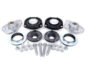 ES#2588783 - 6N0412249CKT - Cup Kit/Coilover Installation Kit - Includes shock/strut mounts, bearings, spring pads, and hardware - Assembled By ECS - Audi