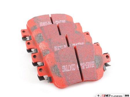 ES#2816773 - DP32201C -  Rear RedStuff Performance Brake Pad Set (272mm) - A high performance street pad, featuring Kevlar technology. - EBC - Volkswagen