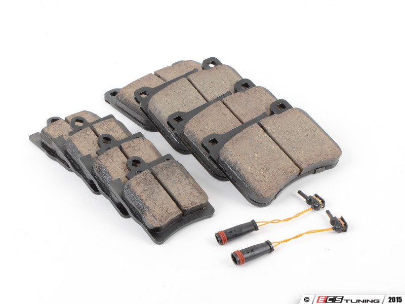 Ecs news mercedes benz w203 brake pad service kits for Mercedes benz e350 brake pads replacement