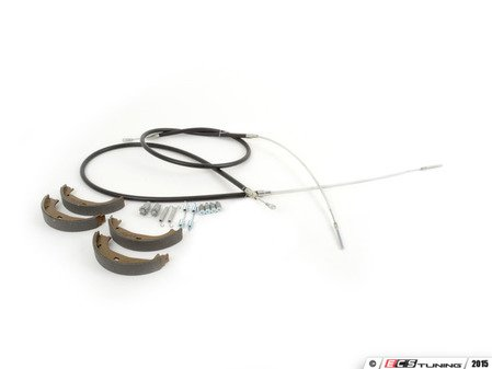 ES#2763139 - 34416761289KT - Parking brake service kit  - Everything you need to service your parking brake system - Assembled By ECS - BMW