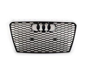 ES#2696420 - 4G8853651E1L1 - RS7 Grille Assembly - Aluminum Matte - Clean up or change your look - Genuine Volkswagen Audi - Audi