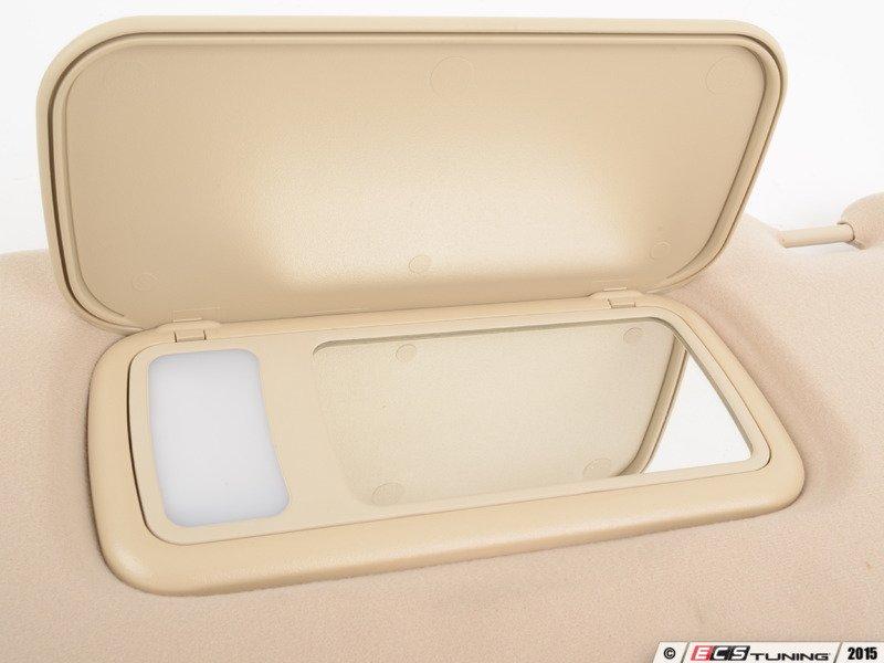 Genuine mercedes benz 16381017108g92 sun visor left for Mercedes benz sun visor replacement