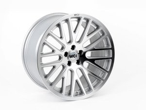 "ES#2843689 - SY95.1 - 18"" SY10 - Priced Each - Silver With Machined Face - 18""X9.5"" ET35, CB74.1mm 5x100 - WatercooledIND - Audi Volkswagen"