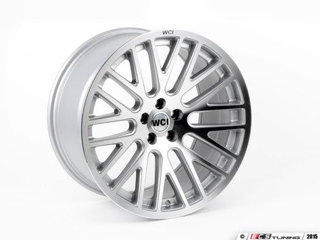 """ES#2843689 - SY95.1 - 18"""" SY10 - Priced Each - Silver With Machined Face - 18""""X9.5"""" ET35, CB74.1mm 5x100 - WatercooledIND - Audi Volkswagen"""
