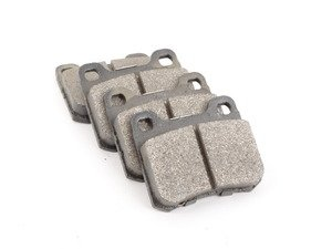 ES#2598571 - 0004209820 - Rear Brake Pad Set - For Vehicles With Two (2) Retaining Pin Rear Brake Pads - Meyle - Mercedes Benz
