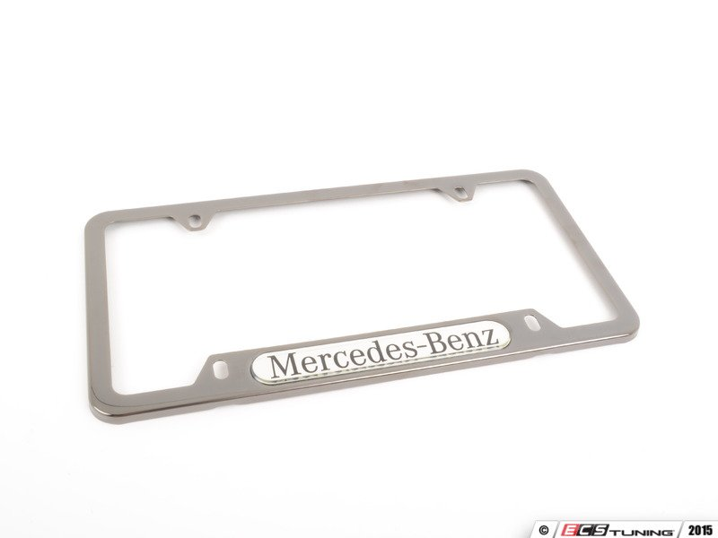 Genuine mercedes benz q6880090 license plate frame for Mercedes benz number plate holder