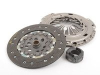 ES#2153859 - 038141025PX - Clutch Kit - Without Flywheel - Kit includes clutch disc, pressure plate and throw out bearing, does not include hardware, price includes refundable $90 core charge - Genuine Volkswagen Audi - Audi Volkswagen