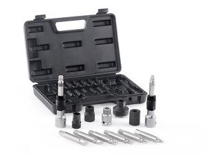 ES#11415 - bta-13pcs - Bosch Alternator Tool Kit - 13 Pieces - Remove and install OAD alternator pulleys - Schwaben - Audi BMW Volkswagen Mercedes Benz MINI Porsche