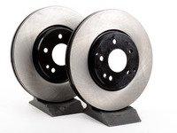 ES#2598533 - 2104212512KT7 - Front Brake Rotors - Pair - Does not include brake rotor securing screws - OP Parts - Mercedes Benz