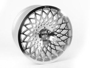 "ES#2847757 - mt95.219KT - 19"" MT10 - Set Of Four  - 19""X9.5"" ET40 5x112 - Machined/Silver - WatercooledIND - Audi Volkswagen"