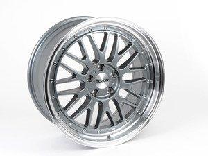 "ES#2738441 - 020-18 - 19"" Style 020 - GunMetal With Polished Lip - Priced Each - 19x9.5, ET30, 5x112, 66.6CB - Alzor - Audi BMW Volkswagen"