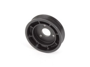ES#2815436 - 32427553955 - Heavy Duty Aluminum Power Steering Pulley - Durable replacement pulley for the power steering system - Hamburg Tech - BMW