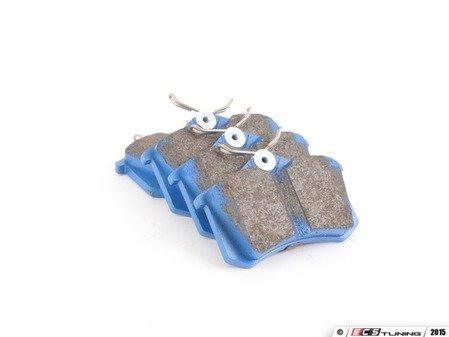 ES#2620067 - DP5680NDX - Rear BlueStuff NDX Performance Brake Pad Set - Intermediate grade trackday pads for aggressive street driving and track use. - EBC - Audi Volkswagen