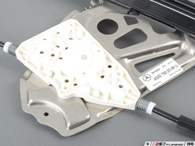 Genuine mercedes benz 2207302346 window regulator for Mercedes benz window regulator