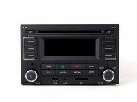 ES#2631910 - 1JM035157AT - RMT 100+ MP3 Bluetooth Radio  - Upgrade the capability of your audio system while retaining clean, stock looks - Genuine Volkswagen Audi - Volkswagen