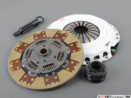 ES#2828975 - 02029HDTZ - Stage 3 FX300 Clutch Kit - Features the Power Plus I Pressure Plate with a Steel Back Segmented Kevlar disc - 110% increased holding capacity - Clutch Masters - Audi