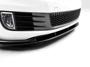 ES#2793836 - 007461ECS09 -  Front Lip Diffuser - Carbon Fiber - Front diffuser made from real carbon fiber, includes required hardware for installation - ECS - Volkswagen