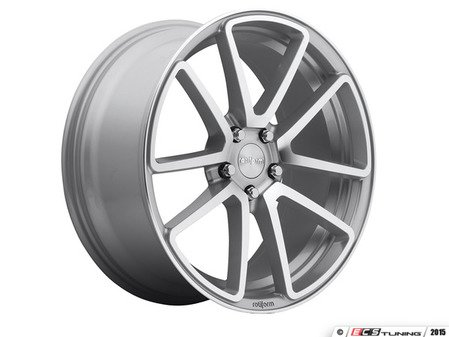 """ES#2837161 - SPF-8KT - 19"""" Style SPF Wheels - Square Set Of Four - 19""""x8.5"""" ET45 66.6CB 5x112 Machined Silver - Rotiform - Audi"""
