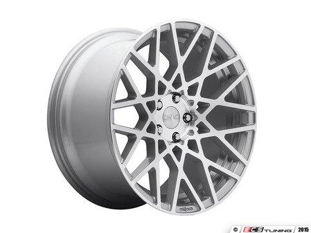 "ES#2837074 - BLQ-2KT - 18"" Style BLQ Wheels - Square Set Of Four - 18""x8.5"" ET35 66.6CB 5x112 Machined Silver - Rotiform - Audi BMW"