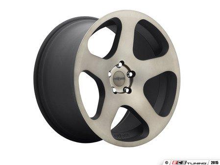 """ES#2840718 - NUE-8mbKT - 19"""" Style NUE Wheels - Square Set Of Four - 19""""x10"""" ET25 66.6CB 5x112 Black & Machined - Rotiform - Audi"""