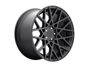 "ES#2857541 - r11218854345KT - 18"" BLQ - Set Of Four - 18""x8.5"" ET45 5x112 - Matte Black - Rotiform - Audi Volkswagen"