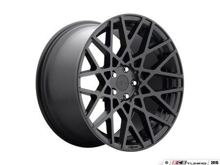"ES#2837098 - BLQ-3bKT - 18"" Style BLQ Wheels - Square Set Of Four - 18""x8.5"" ET45 66.6CB 5x112 Matte Black - Rotiform - Audi MINI"