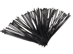 """ES#5842 - TW14 100P - Plastic Wire Tie-100 Pack - 1 pack of 100 14"""" black wire tie/straps - AFT - Audi Volkswagen"""