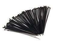 """ES#5841 - TW11 100P - Plastic Wire Tie-100 Pack - 1 pack of 100 11"""" black wire tie/straps - AFT - Audi Volkswagen"""