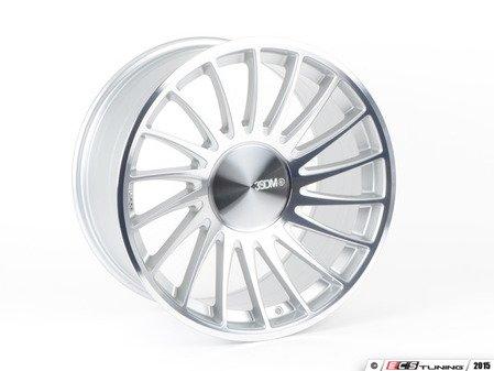 """ES#4056584 - 3sdm0055KT2 - 19"""" 0.04 - Set Of Four - 19""""x10"""" ET35 5x112 - Silver/Cut - 3SDM - Audi Volkswagen"""