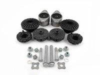 ES#2581959 - 4F0513353DKT - Cup Kit/Coilover Installation Kit - Includes shock/strut mounts, spring pads, and hardware - Assembled By ECS - Audi